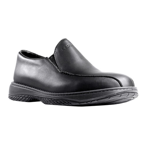 REDBACK CHEF BLACK NAPPA SLIP-ON SHOE