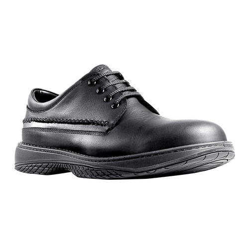 REDBACK WAITER BLACK NAPPA LACE UP SHOE