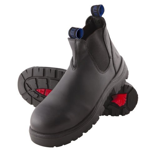 STEEL BLUE HOBART ELASTIC SIDED NON-SAFETY BOOT