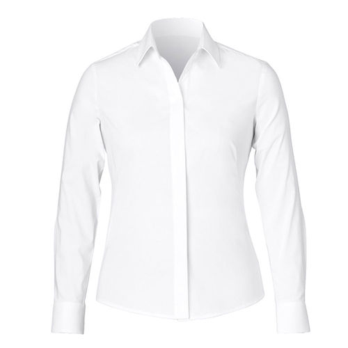 NNT LONG SLEEVE CONCEALED FRONT SHIRT