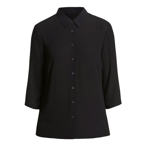 NNT 3/4 SLEEVE PLEAT DETAIL BLOUSE
