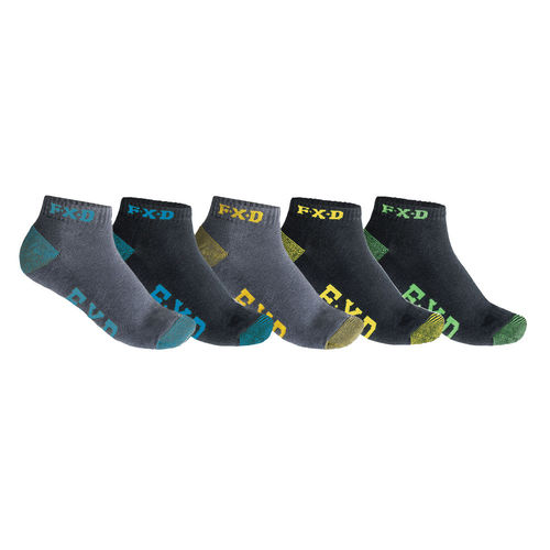 FXD HEEL CUSHION PANEL SOCKS