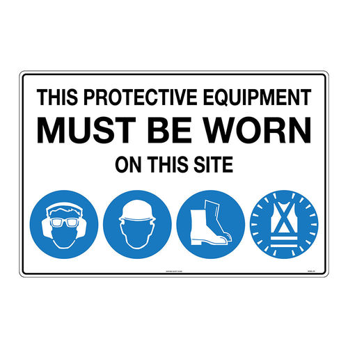 UNIFORM SAFETY SIGNS - 100ELC-S1