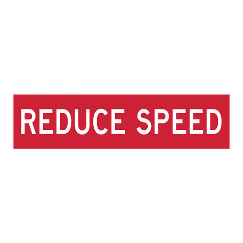 REDUCE SPEED, CONFLUTE, 1200x300mm class 1, EA