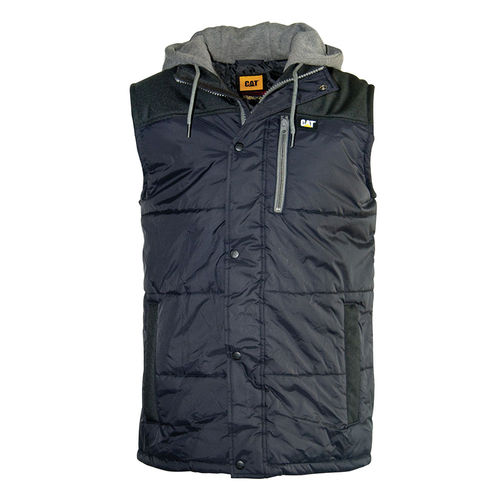 CAT HOODED WORK VEST
