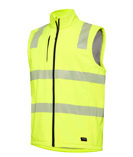 KINGGEE REFLECTIVE SOFT SHELL VEST