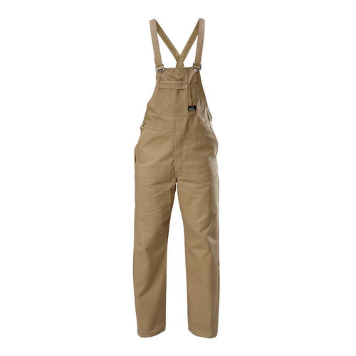 HARD YAKKA FOUNDATIONS COTTON DRILL BIB & BRACE OVERALL