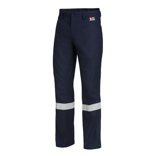 HARD YAKKA SHIELDTEC FR FLAT FRONT PANT WITH TAPE