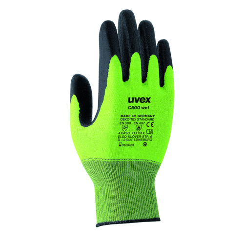 UVEX C500 WET CUT PROTECTION GLOVE