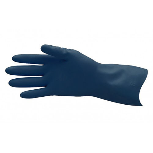 PRO-VAL BLUE LINED RUBBER GLOVE