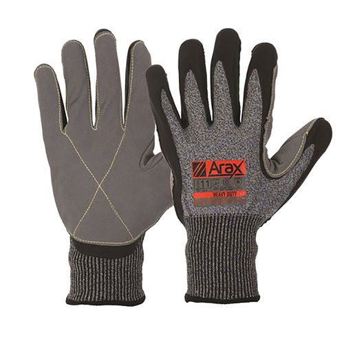 PARAMOUNT ARAX LEATHER PALM GLOVE - SIZE 10