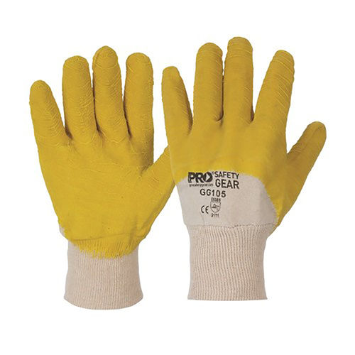 PARAMOUNT GLASS GRIPPER GLOVES - LARGE