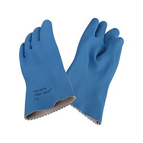 ANSELL HYCARE RUBBER GLOVES - BOX OF 12