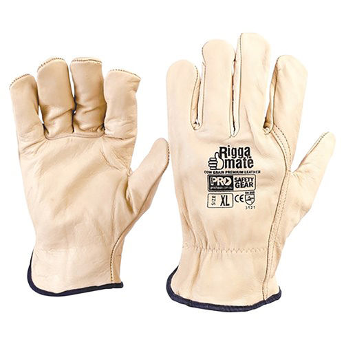 PARAMOUNT RIGGAMATE COWGRAIN GLOVE - LARGE