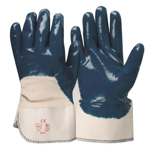 BEAVER FRONTIER NITRILE 3/4 DIP GLOVE - LARGE