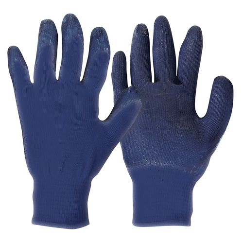 BEAVER SPLASHED DIPPED LATEX, BLUE, XL
