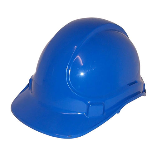 SCOTT SAFETY NON VENTED PLASTIC SAFETY HELMET - BLUE