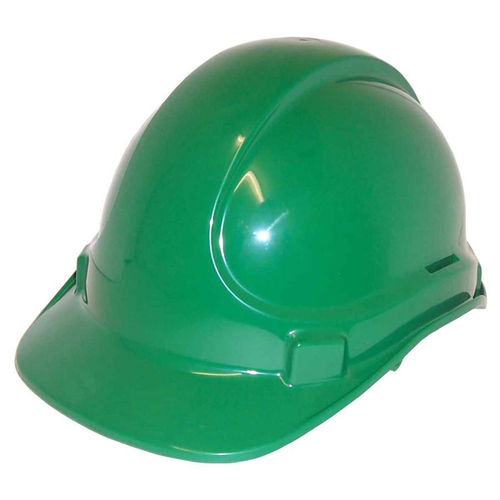 SCOTT SAFETY NON VENTED PLASTIC SAFETY HELMET - GREEN