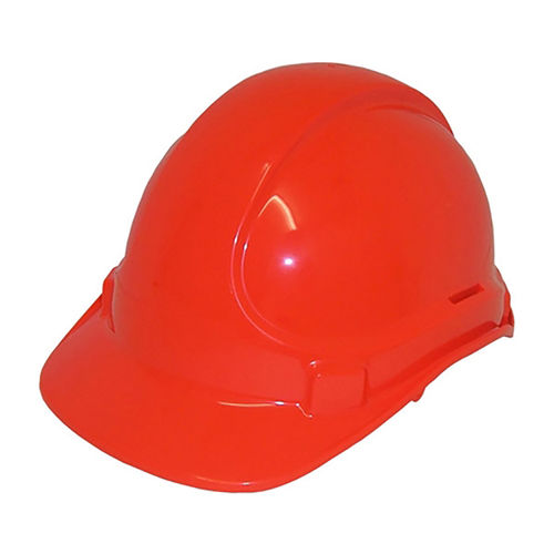 SCOTT SAFETY NON VENTED PLASTIC SAFETY HELMET - RED