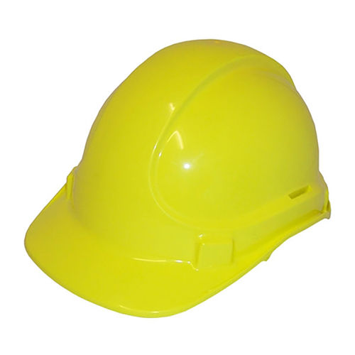SCOTT SAFETY NON VENTED PLASTIC SAFETY HELMET - YELLOW