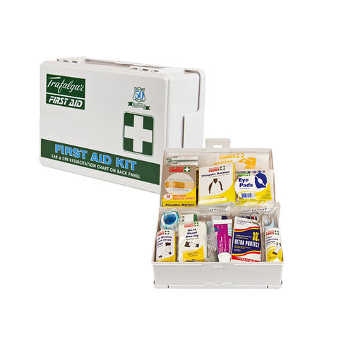 BRADY VEHICLE AND LOW RISK FIRST AID KIT