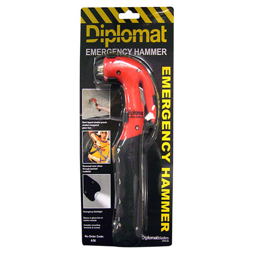 DIPLOMAT EMERGENCY RESCUE HAMMER