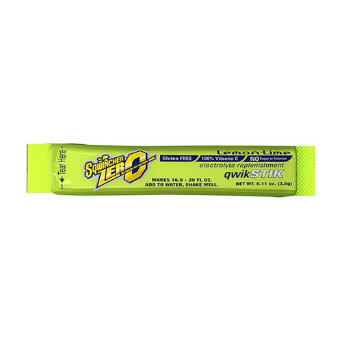 SQWINCHER QWIK STIKS 50 PACK - LEMON LIME