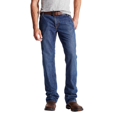 ARIAT FIRE RATED M4 LOW RISE WORKHORSE BOOT CUT JEAN