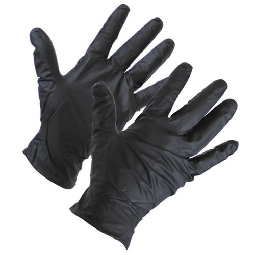 TGC BLACK NITRILE GLOVES