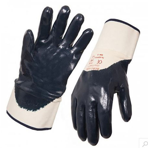 STEEL DRILL HERCULES HEAVY WEIGHT NITRILE GLOVE