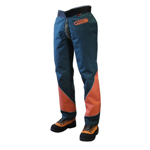 CLOGGER DEFENDERPRO ZIPPED CHAINSAW CHAPS - CLIPPED