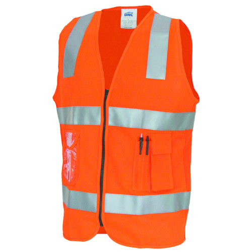 DNC SIDE PANEL SAFETY VEST WITH TAPE