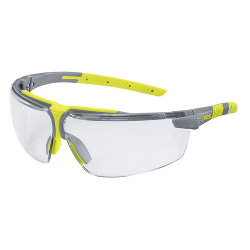 UVEX CLEAR SAFETY GLASSES - ANTI-MIST