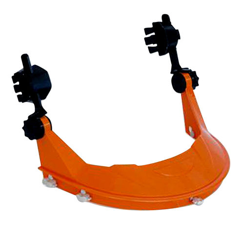 PROCHOICE HARD HAT WITH BROWGUARD ATTACHMENT - ORANGE