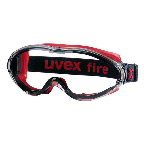 UVEX ULTRASONIC FIRE GOGGLES