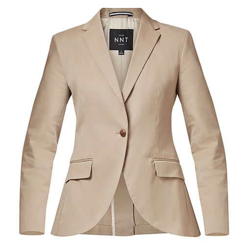 NNT LADIES CHINO HALF LINED COTTON STRETCH BLAZER
