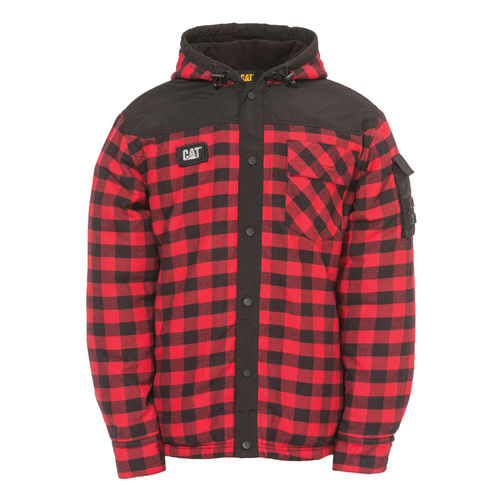 CAT SEQUOIA RED BUFFALO PLAID SHIRT/JKT,
