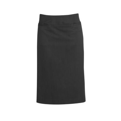 BizCorp WOMENS C/STCH R/F SKIRT