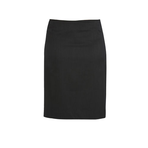 BizCorp WOMENS C/STCH B/L SKIRT