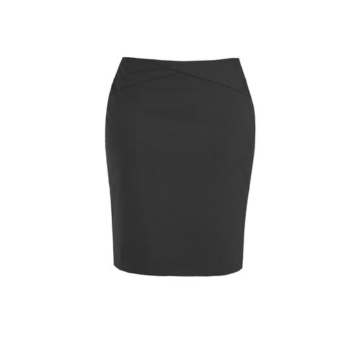 BizCorp WOMENS CHEV/BAND SKIRT