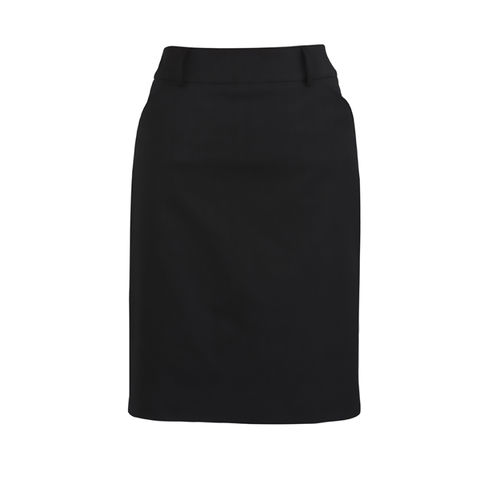 BizCorp WOMENS M/PLEAT SKIRT
