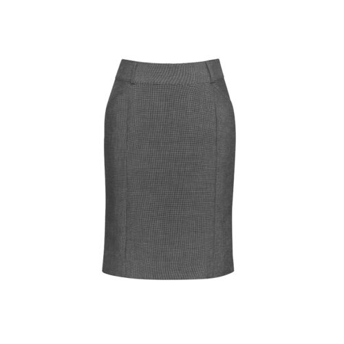 BizCorp WOMENS FEATURE PLT SKIRT,