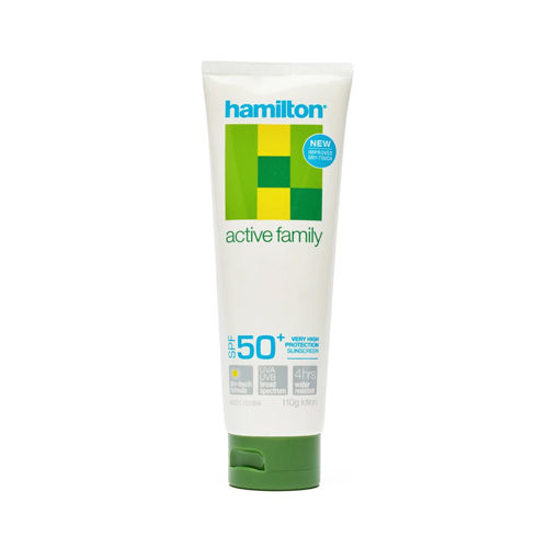 7223 HAMILTON SUNSCREEN SPF 50 + 110g TUBE, 4HR W/R