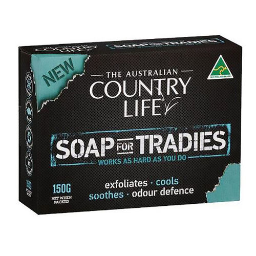 COUNTRY LIFE SOAP FOR TRADIES,150gm, EA